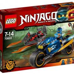 Motocicleta Fulger a lui Jay - LEGO Ninjago