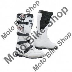 Cizme motocross TCX X-MUD, albe, 43,