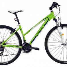 Bicicleta DHS Terrana 2722 (2016) Culoare Verde/Alb 420mm - Mountain Bike