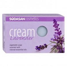 Sapun crema ecologic cu lavanda 100gr