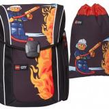 Ghiozdan Xtreme LEGO City cu sac sport