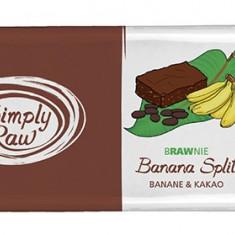 Brawnie banana split raw bio 45g