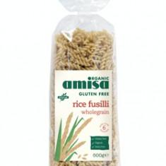 Fusilli din orez integral fara gluten bio 500g - Paste fainoase