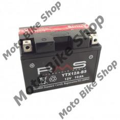 Baterie moto + electrolit 12V12Ah YTX12A-BS,