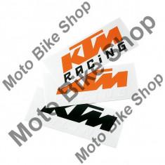 Abtibild KTM, portocaliu/alb, - Maneta frana Moto