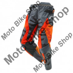 Pantaloni motocross KTM Racetech, portocaliu/gri, L/34, - Maneta frana Moto
