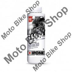 Ulei moto 4T Ipone R4000 RS 10W30 Sintetic Plus ESTER - JASO MA2 - API SM, 1L, - Maneta frana Moto