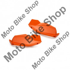 Set plastice protectii maini KTM, portocaliu, - Componente moto