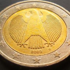 Moneda bimetal 2 Euro - GERMANIA, anul 2003 *cod 5054, Europa