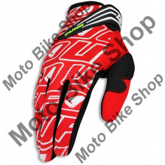 Manusi motocross Ufo Punk, rosu, XL,