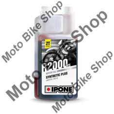 Ulei moto 2T Ipone R2000 RS Sintetic Plus - JASO FD - API TC, 1L, - Ulei motor Moto