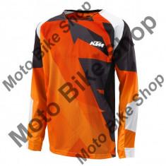 Tricou motocross KTM Gravity-FX, portocaliu M,