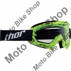Ochelari cross/enduro S14 Enemy Thor, verde, sticla transparenta, - Ochelari moto