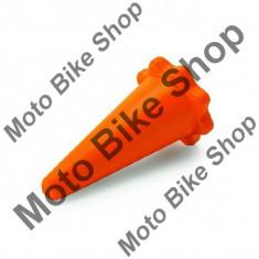 Dop protectie toba KTM, portocaliu, - Dop protectie toba Moto
