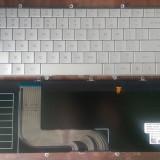 Tastatura Dell  ADAMO 13-A101 CN-0T789M NSK-DH01D US SILVER iluminata