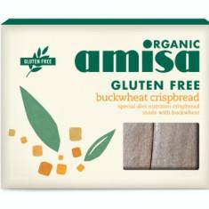Crispbread (painici) din hrisca integrala fara gluten bio 120g - Paste fainoase