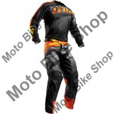 Pantaloni motocross Thor Pulse Velow S7, negru/portocaliu, 36, - Imbracaminte moto