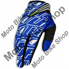 Manusi motocross Ufo Punk, albastru, S,