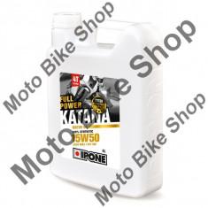 Ulei moto 4T Ipone Full Power Katana 15W50 100% Sintetic ESTER - JASO MA2 - API SM, 4L, - Ulei motor Moto
