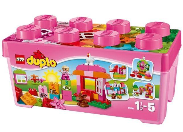 Cutie roz completa pentru distractie LEGO DUPLO foto mare