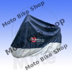 Prelata moto impermeabila 275x108x104, albastru/argintiu, 500cc-1000cc, - Husa moto