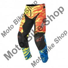 Pantaloni motocross copii Alpinestars Braap, albastru/rosu, 28, - Imbracaminte moto