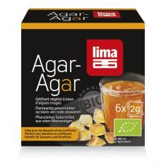 Agar agar pudra bio 6x2g Lima - Peste si fructe de mare