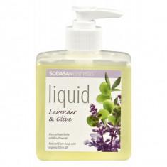 Sapun lichid/gel de dus ecologic Lavanda - Masline 300ml