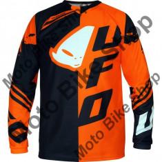 Tricou motocross Ufo Cluster, portocaliu, XL,