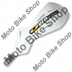Protectii maini Ufo Plast ALU Pro-Tape, D.28.6mm, alb, cu kit de prindere, - Componente moto