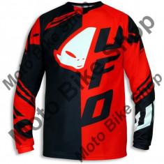 Tricou motocross Ufo Cluster, rosu, XL,