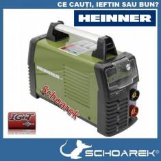 ► Aparat de sudura Invertor Heinner original MMA 160 A - IGBT - 3 ANI GARANTIE
