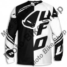 Tricou motocross Ufo Cluster, negru, M,