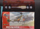 bnk jc Elicopter - macheta - Westland Gazelle - Airfix - 1/72