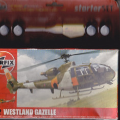 Bnk jc Elicopter - macheta - Westland Gazelle - Airfix - 1/72 - Macheta Aeromodel Alta