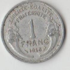 Moneda 1 franc 1948 - Franta, Europa