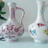 Doua vase decorative din portelan