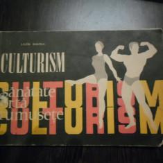 CULTURISM * Programe - Lazar Baroga - Editura Stadion, 1970, 86 p., Alta editura