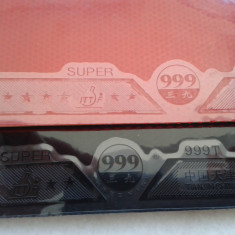Fețe 999 GLOBE (HongKong) pentru palete tenis de masă - Ping pong