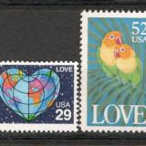 S.U.A. 1991 Timbre de felicitare KS.120 - Timbre straine, Nestampilat