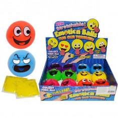 Minge cauciuc cu gura si gelatina 5, 5 cm - Minge ping pong