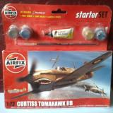 bnk jc Avion - macheta - Curtiss Tomahawk IIB - Airfix - 1/72