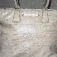 Geanta Versace Jeans - Geanta Dama Versace, Culoare: Crem, Marime: One size