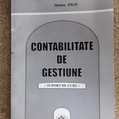 Contabilitate De Gestiune Suport De Curs IACOB ,AVRAM , IONESCU