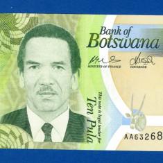 Botswana - 10 Pula 2009 - Prefix AA - UNC - bancnota africa