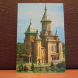 TIMISOARA - CATEDRALA MITROPOLIEI BANATULUI - CIRCULATA, TIMBRATA . - Carte Postala Banat dupa 1918, Fotografie