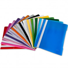 Dosar plastic cu sina si perforatii EXXO pentru documente - Dosar Papetarie