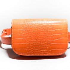 Borseta portocalie - Borseta Dama