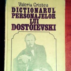 Dictionarul personajelor lui Dostoievski - Valeriu Cristea