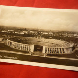 Ilustrata Stadionul Olimpic din Berlin, Necirculata, Fotografie